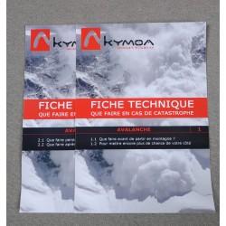 Fiches Avalanche